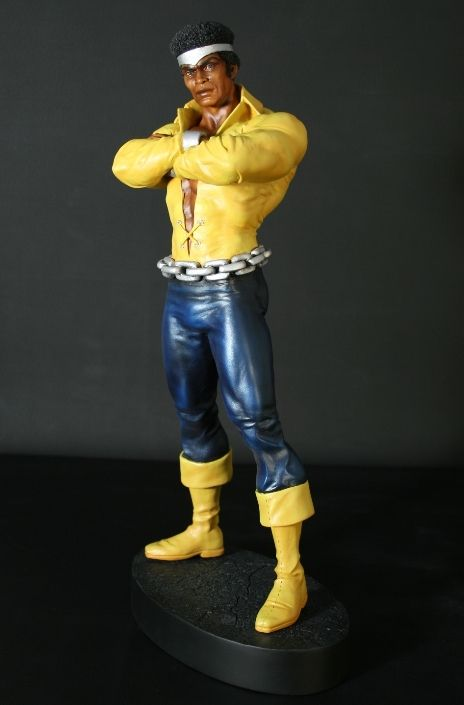 Luke Cage Classic statue  Sculpted by: Mark Newman    Release Date: July 2008  Edition Size: 1000  Order Of Release: Phase IV (statue #113)