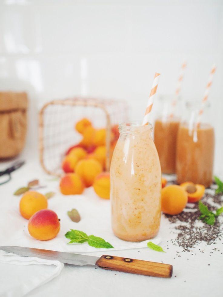 Apricot chia smoothie - Marhuľové smoothie s chia | Lapetit