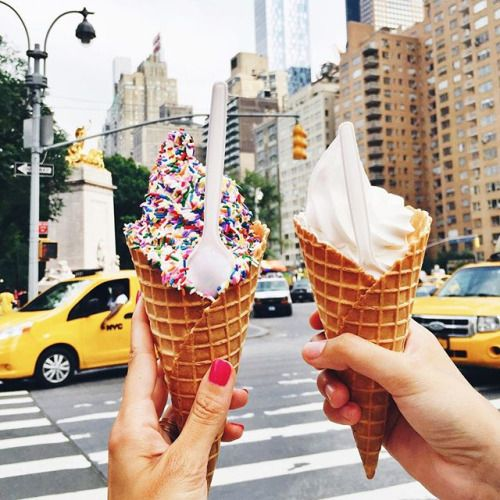 Ice cream in New York