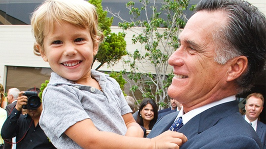 """This is one of our precious grandsons with """"Papa"""" at an event in CA"""