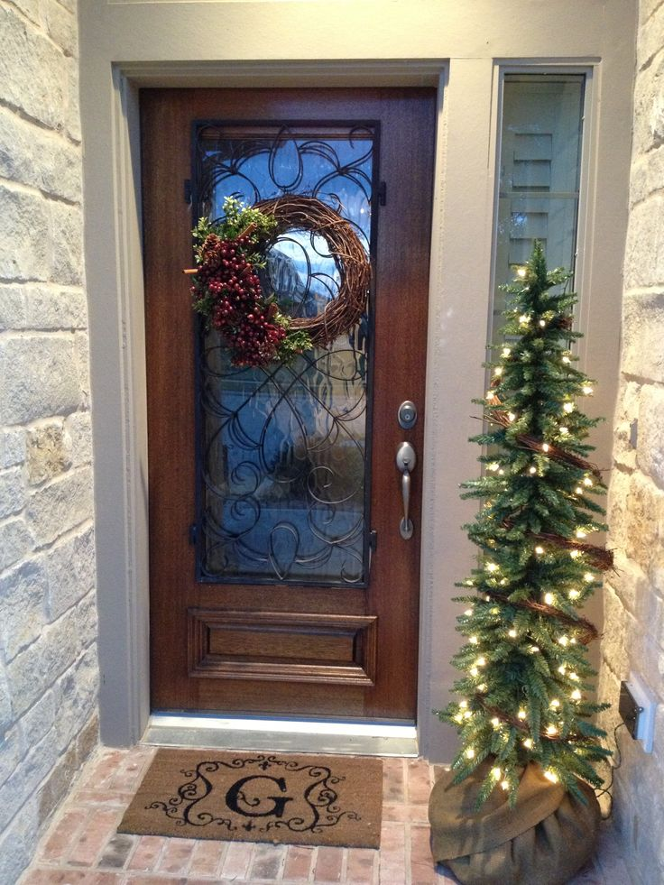 Simple Outdoor Holiday Decor Christmas Pinterest