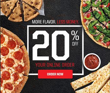 Pizza hut coupon code 20 off first online order