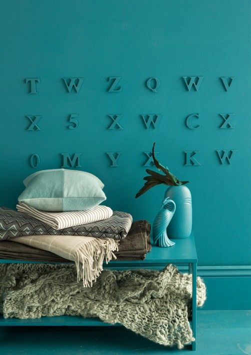 : Wall Photo, Blue Wall, Bedrooms Design, Kids Spaces, Paintings Wooden Letters, Design Bedrooms, Paintings Letters, Bedrooms Decor, Kids Rooms