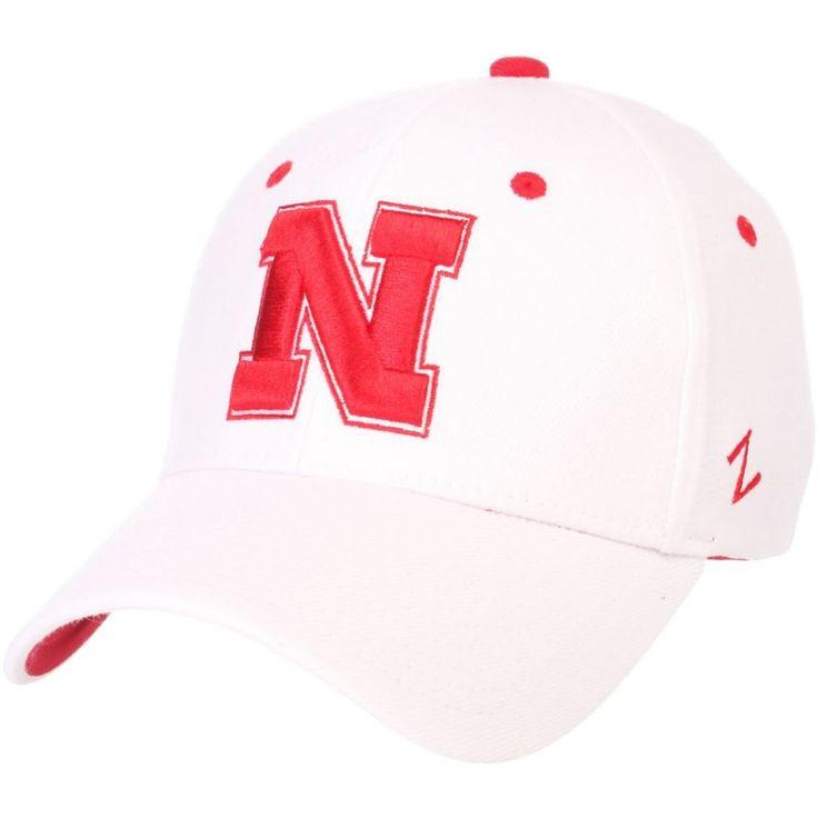 Zephyr Men's Nebraska Cornhuskers White ZH ZClassic Flexfit Hat, Size: Small, Multi