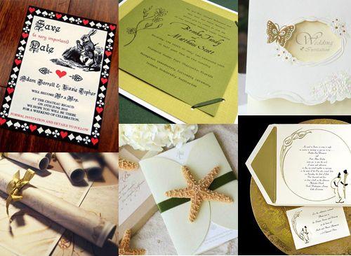 Виды пригласительных и тексты приглашений на свадьбу