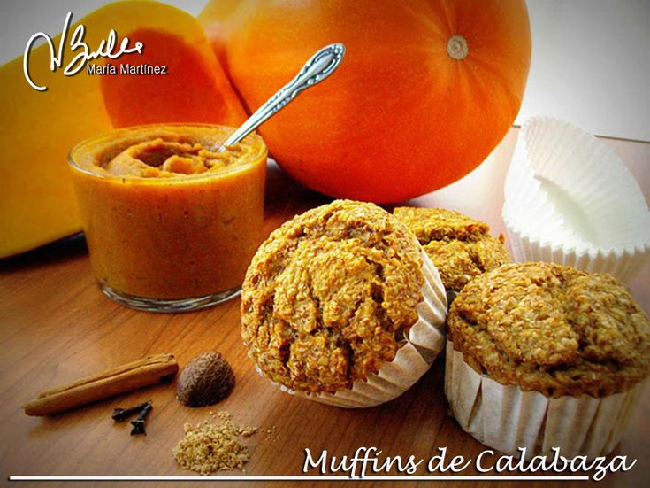 Muffins de Calabaza y Salvados: Recetas Dukan