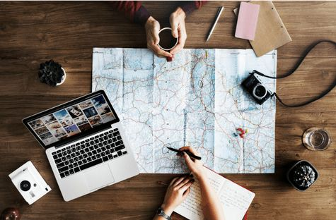 COME CREARE IL TUO VIAGGIO - FASE QUATTRO : definisci tappe e mezzi di trasporto - Guida Galattica per Viaggiatori