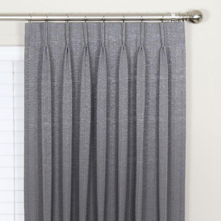 Panache Blockout Pinch Pleat Curtains | Blockout Pinch Pleat Curtains | Kresta Australia