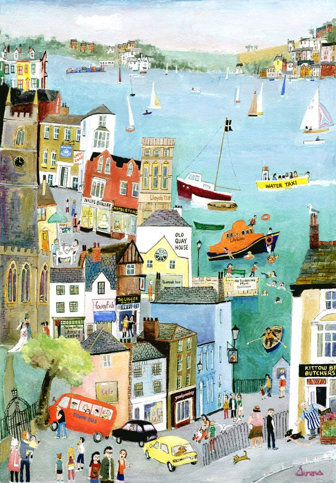 serena artist - Google Search . Bus Ride through Fowey