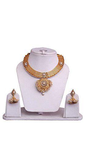 Elegant Bollywood Designer Madhuri Dixit Inspired Gold Pl... https://www.amazon.com/dp/B071DM7D44/ref=cm_sw_r_pi_dp_x_ieE.ybF56T1ZW