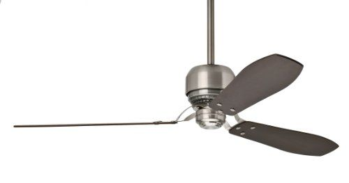 Special Offers - Casablanca 59504 Tribeca 60-Inch 3-Blade Ceiling Fan with Reversible Walnut/Burnt Walnut Blades and Included Remote Brushed Nickel - In stock & Free Shipping. You can save more money! Check It (June 01 2016 at 05:24PM) >> http://airpurifierusa.net/casablanca-59504-tribeca-60-inch-3-blade-ceiling-fan-with-reversible-walnutburnt-walnut-blades-and-included-remote-brushed-nickel/