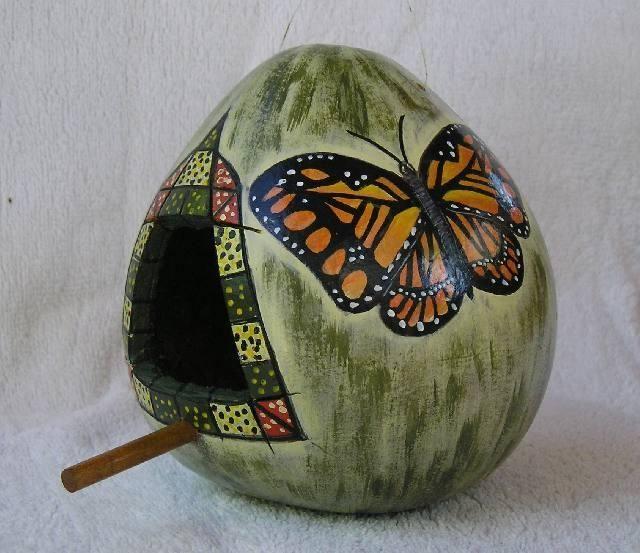 M s de 1000 ideas sobre calabazas pintadas en pinterest - Calabazas pintadas y decoradas ...