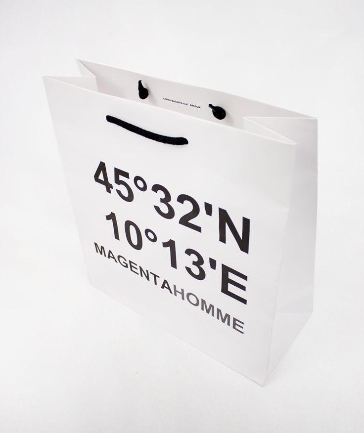 Paper bag for Magenta Homme / Giustacchini Packaging