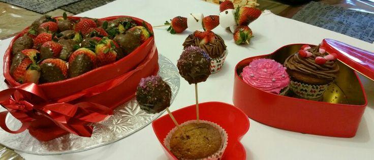 Valentine's day cake fest!!