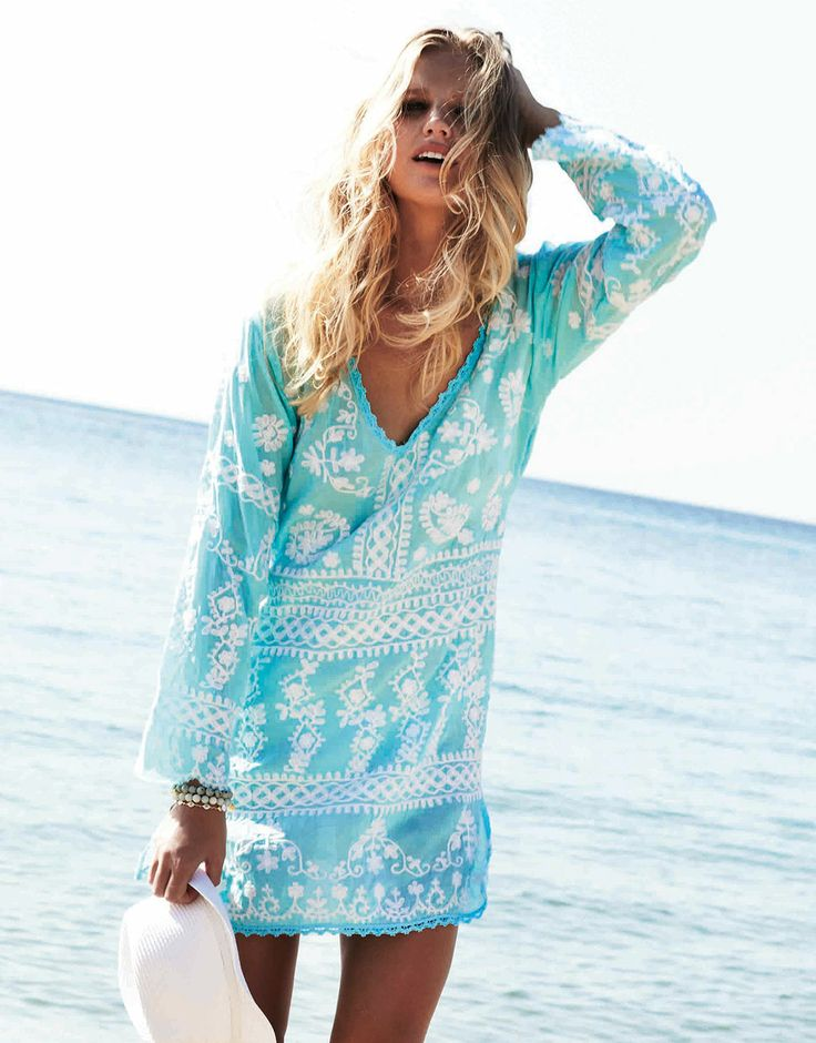 White Beach Cover Ups And Dresses Fashion Dresses