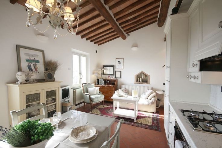 Check out this awesome listing on Airbnb: Zaffiro Bianco view apartment - Apartments for Rent in San Gimignano