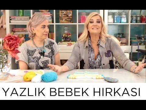 Yazlık Bebek Hırkası | Derya Baykal - YouTube