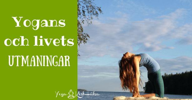 Känner du någonsin att det är extra utmanande med vissa yogaövningar? Läs mer om det här!    #mediyoga #medicinskyoga #kundaliniyoga #yoga #meditation #avslappning