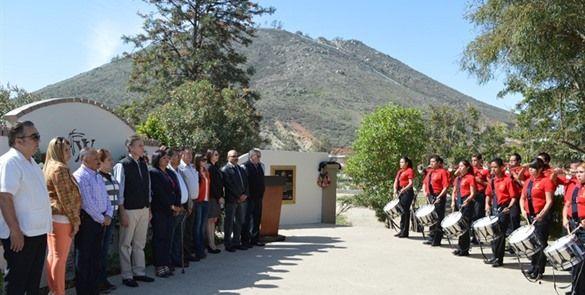 Guardia de honor en Tecate, por aniversario luctuoso de Colosio