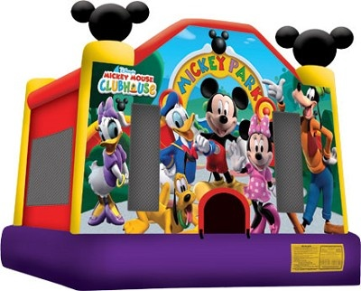 Moonwalk Mickey Mouse Clubhouse Birthday Party Pinterest