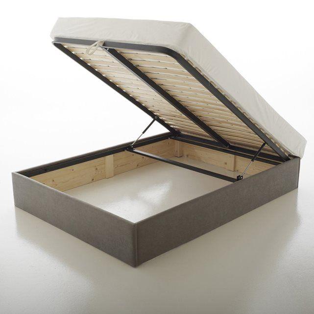 sommier coffre en kit. Black Bedroom Furniture Sets. Home Design Ideas