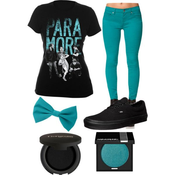 Paramore scene outfit