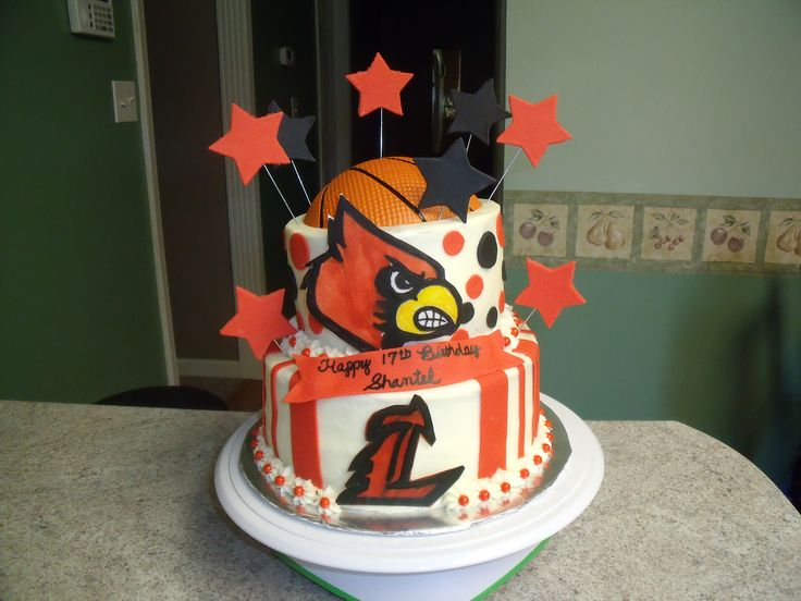 Louisville Birthday Cake