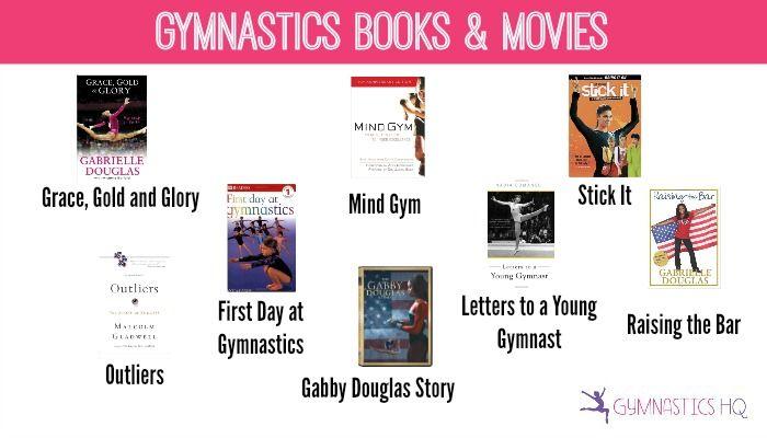 Gymnastics Books & Movies// Gymnast Gift Guide