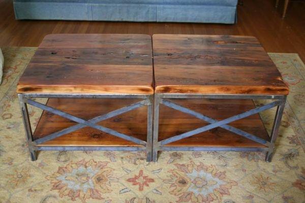 Reclaimed Wood Coffee Table Rustic Industrial Upcycle Pinterest Coffee Reclaimed Wood
