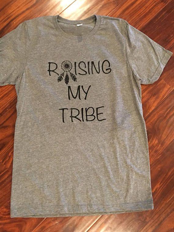 Raising my tribe shirt tribe shirt tribal shirt