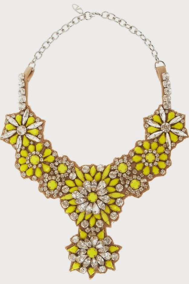 Valentino Bib Necklace | Community Post: Go Big, Bold, Bright With Bib Necklaces!
