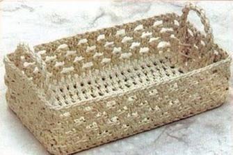 Come realizzare un cestino porta lavoro all'uncinetto