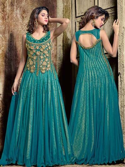Indian Anarkali Party Wear Suits For Girls