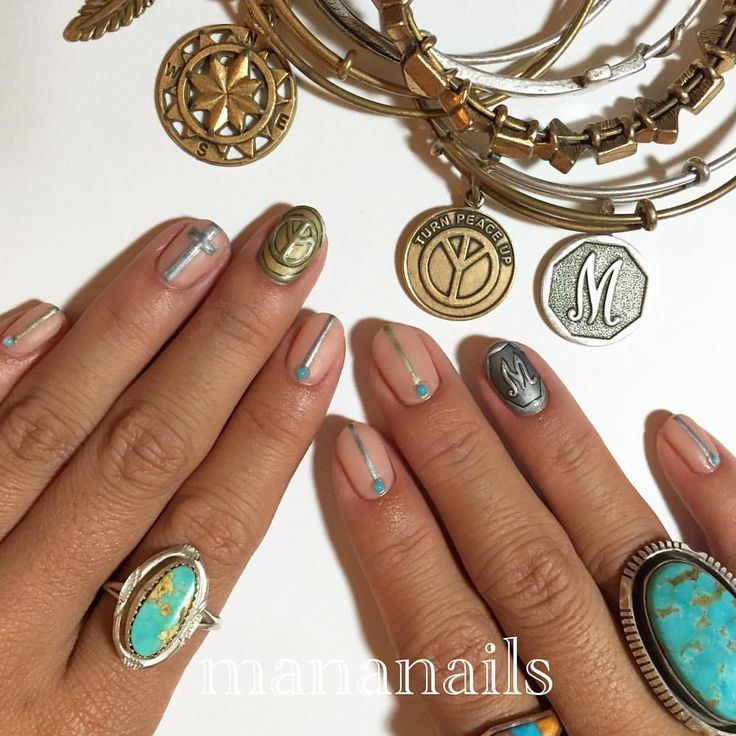 "Mananails on Instagram: ""inspired by @alexandani"""