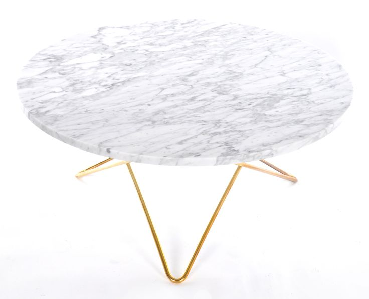 O table soffbord - carrara marmor från OX Design hos ConfidentLiving.se #marble #marmor