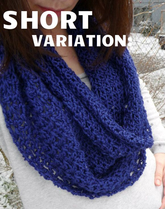 Free Crochet Pattern For Lightweight Scarf : 1000+ ideas about Circle Scarf on Pinterest Infinity ...