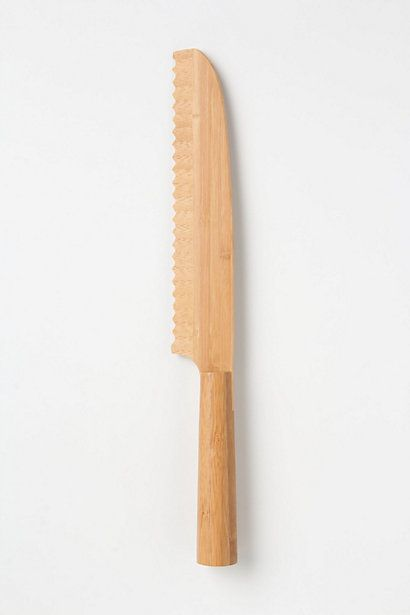 Bamboo Bread Knife #anthropologie