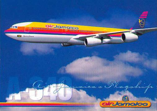 Air Jamaica- once our national airline