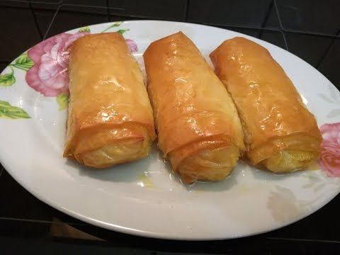 Cooking With Fey-Γαλακτομπουρεκακια - YouTube