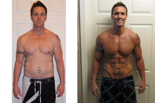 Isagenix Before & After: Brent A. #weightloss