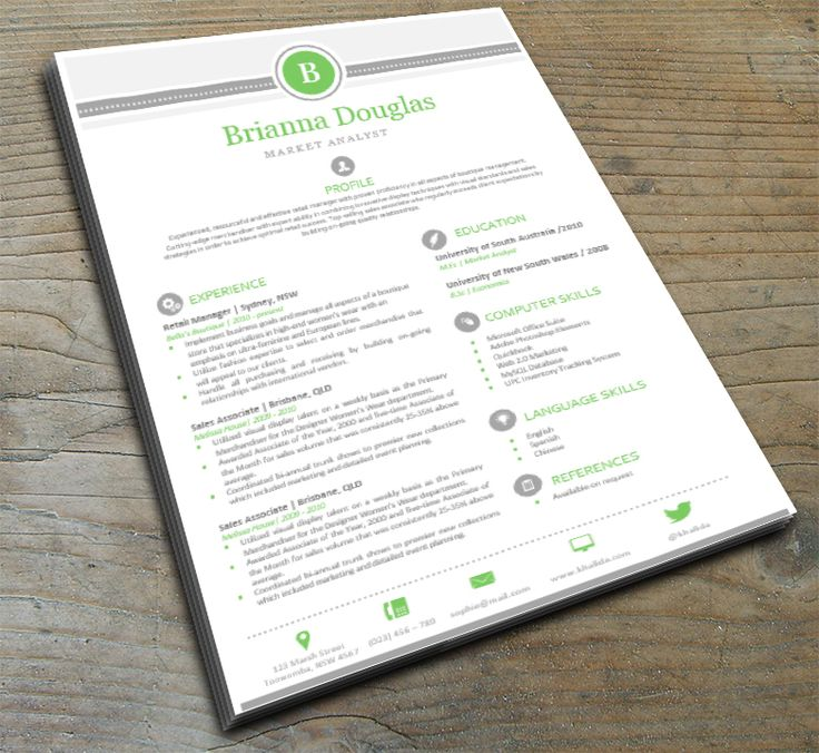 40 best CV DB 1 images on Pinterest Design resume, Resume design