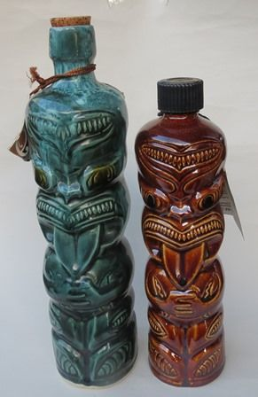Ti Toki bottles - Orzel and Crown Lynn are different sizes
