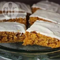 Cinnamon and Pumpkin Bars @ allrecipes.com.au