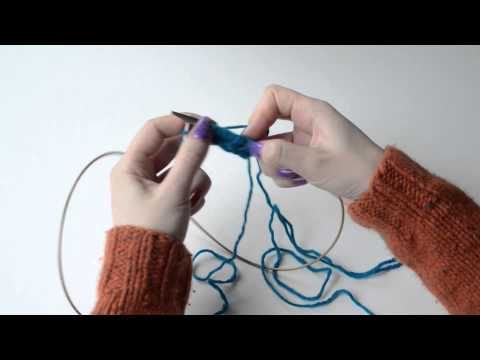 (2) Knit tips: how to do stacked increases - YouTube
