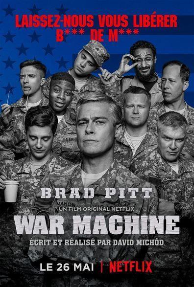 War Machine (2017) Regarder War Machine (2017) en ligne VF et VOSTFR. Synopsis: Un film sur la guerre qui retrace le parcours en montagnes russes d'un général améric...