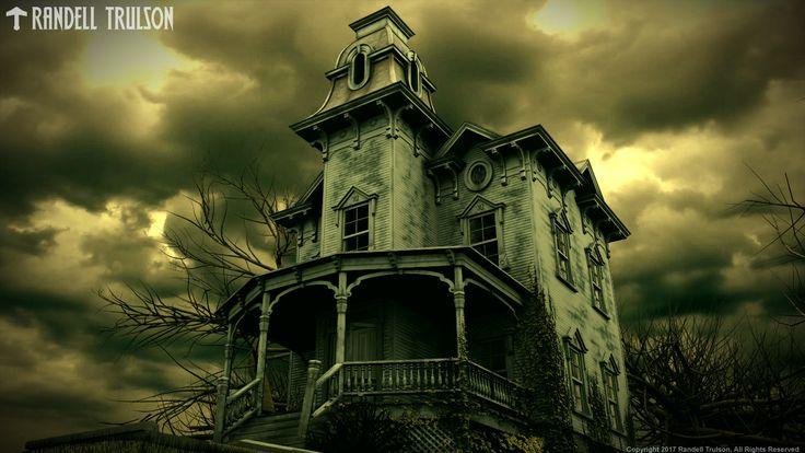 ArtStation - Spook House Redux, Randell Trulson