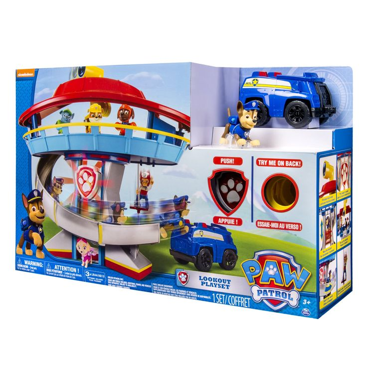 Amazon.com: Nickelodeon, Paw Patrol - Look-out Playset: Toys & Games