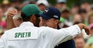 Jordan Spieth's biggest prize for winning the Masters – telling his sister he won - The term 'Gentleman Player' comes to mind with this young man. Sadly, that is not the case with many who win. Class & humility all the way ~