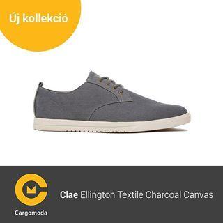 Clae Ellington Textile Charcoal Canvas - Megérkezett az új tavaszi-nyári Clae kollekció! www.cargomoda.hu #cargomoda #clae #man #springsummercollection #spring #summer #mik #instahun #ikozosseg #budapest #hungary #divat #fashion #shoes #fashionlover #fash