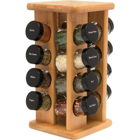 Rotating spice rack